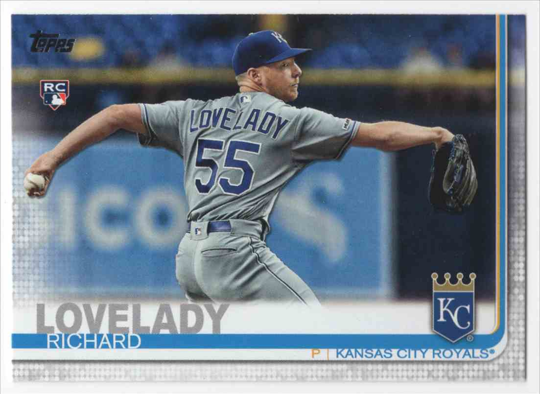 2019 Topps Update Richard Lovelady #US213 card front image