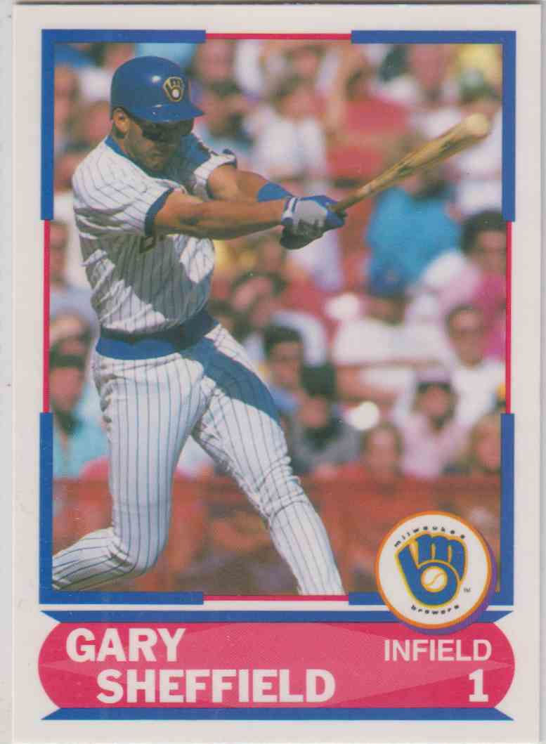 1989 Score Young Superstars I Gary Sheffield 25 On Kronozio
