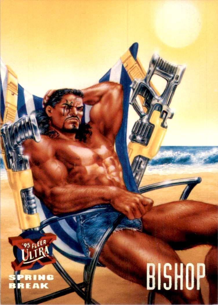 1995 X-Men Ultra Bishop #141 card front image