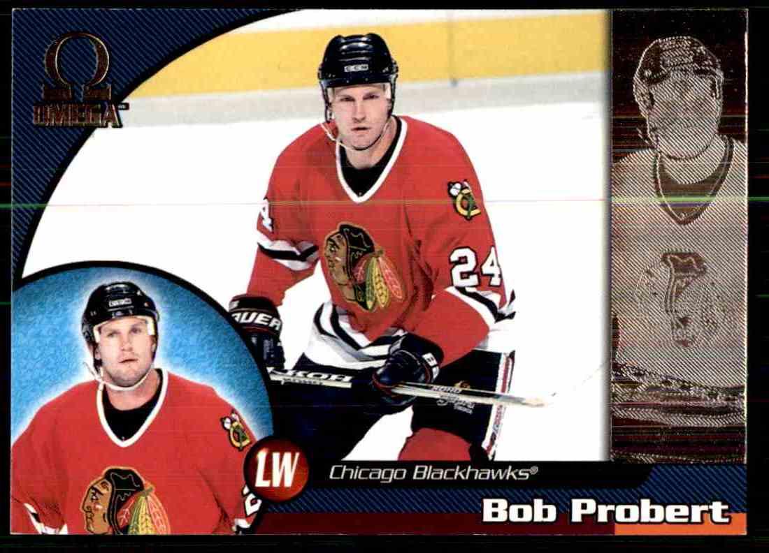 1998-99 Pacific Omega Bob Probert  54 card front image c549a170b