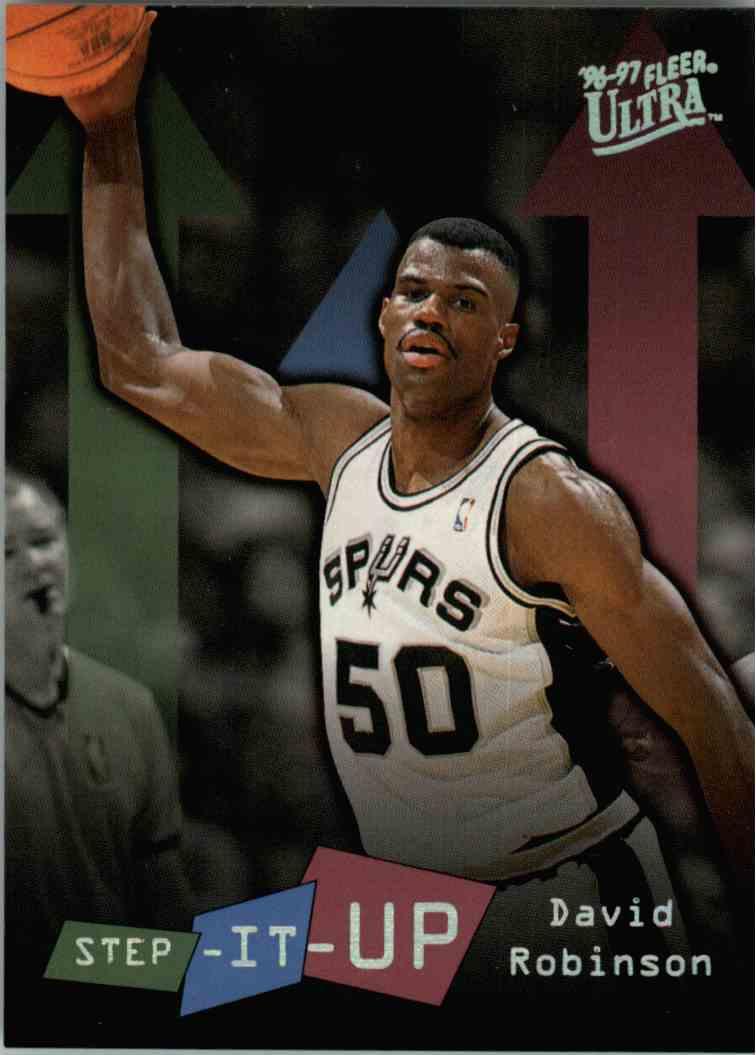 1996-97 Fleer Ultra David Robinson #285 card front image
