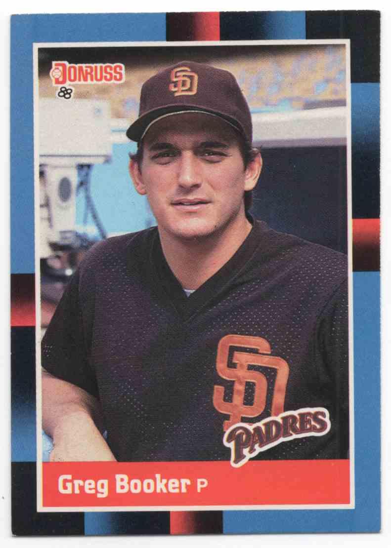 1988 Donruss Greg Booker #311 card front image