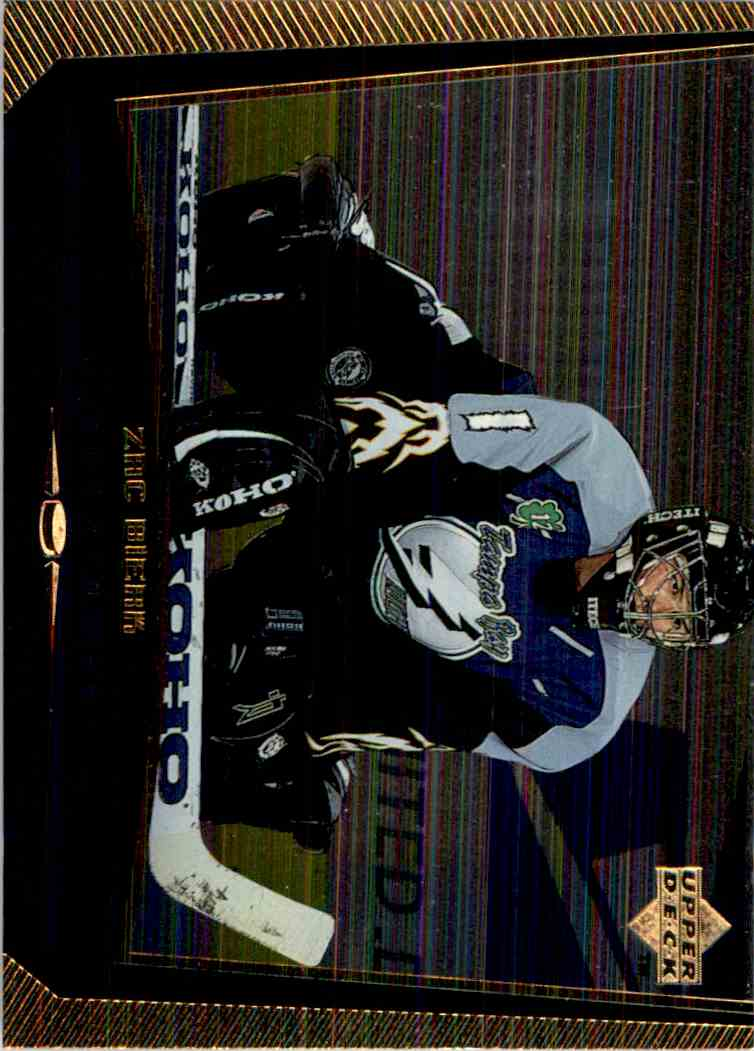 1998-99 Upper Deck Gold Reserve Zach Bierk #181 card front image