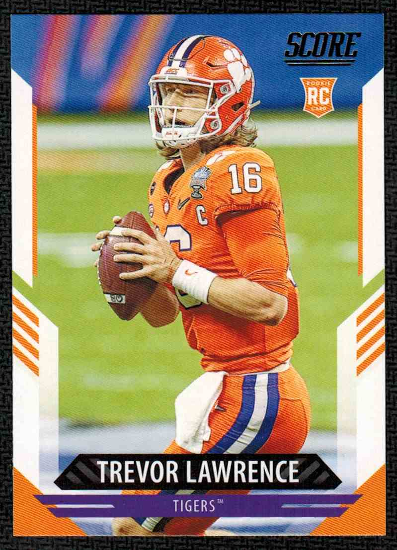 2021 Panini Score Trevor Lawrence #301 card front image