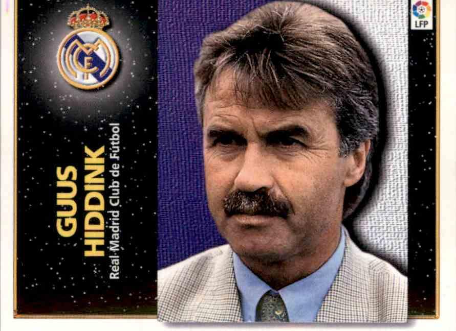 1998 Liga Este 98 99 Base Guus Hiddink Card Front Image