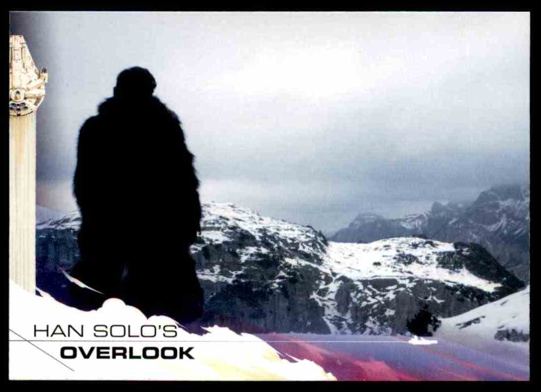 2018 Topps Solo: A Star Wars Story Han Solo's Overlook #68 card front image