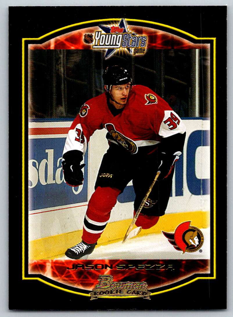 2002-03 Bowman YoungStars Jason Spezza #126 card front image