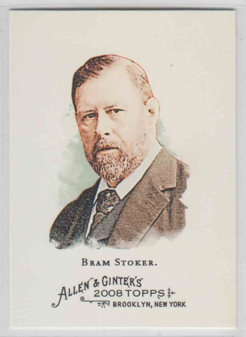 2008 Topps Allen And Ginter Bram Stoker #166 card front image