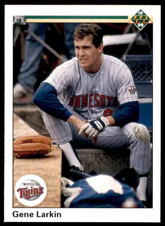1990 Upper Deck Gene Larkin #471 card front image