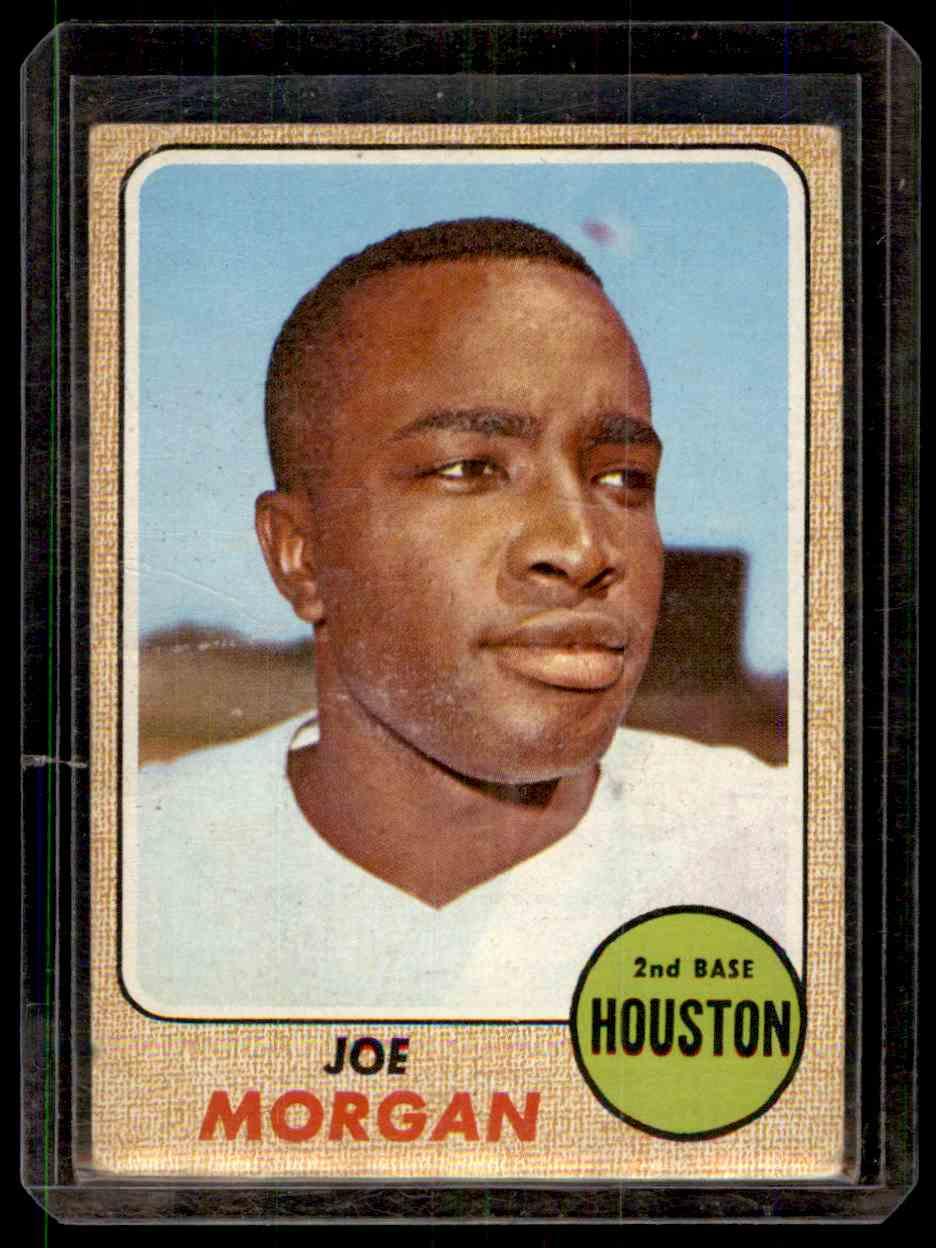 1968 Topps Joe Morgan #144 card front image
