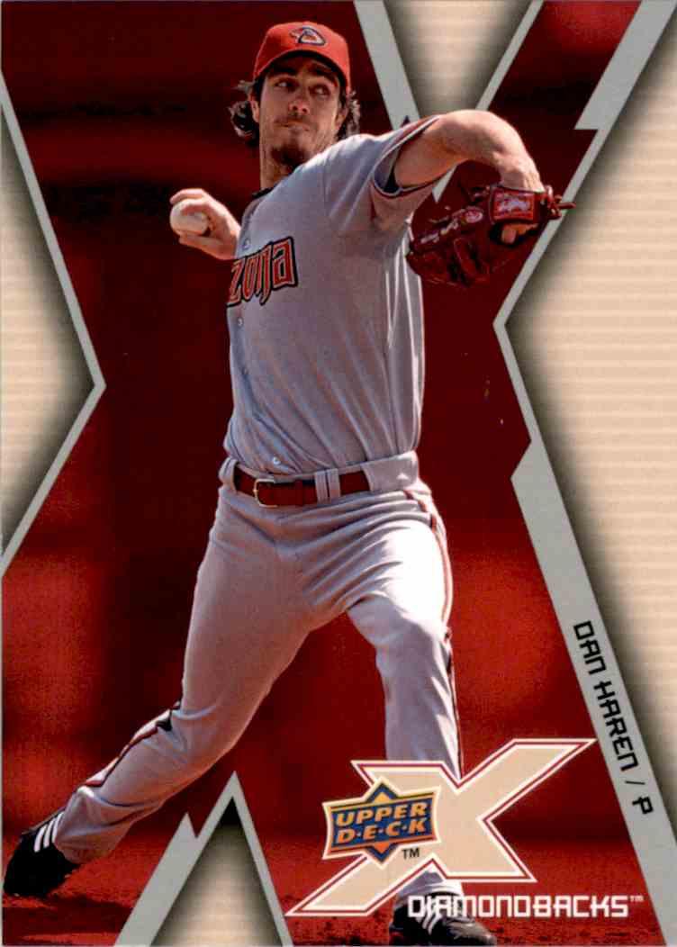 2009 Upper Deck X Dan Haren #1 card front image