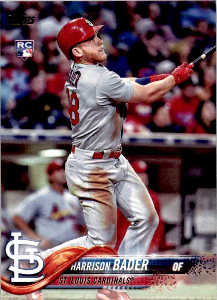 2018 Topps Series One Harrison Bader #21 card front image