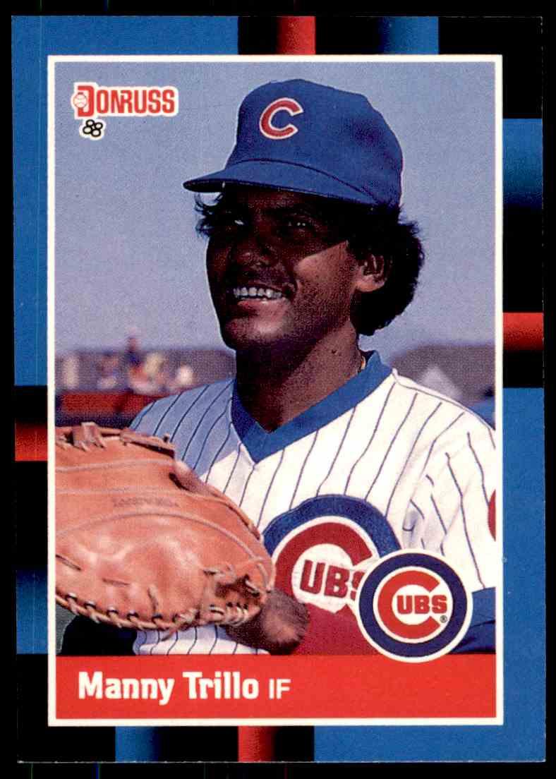 1988 Donruss Baseball Manny Trillo 516 On Kronozio