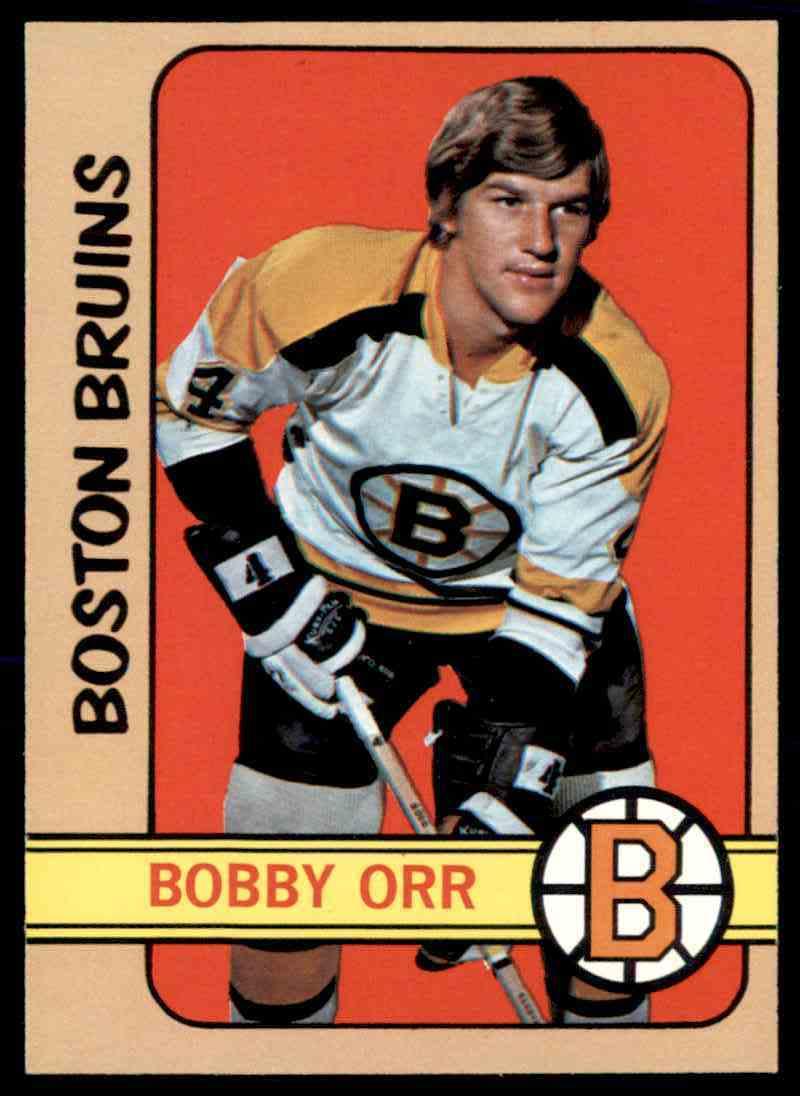 1972-73 Topps Bobby Orr #100 card front image