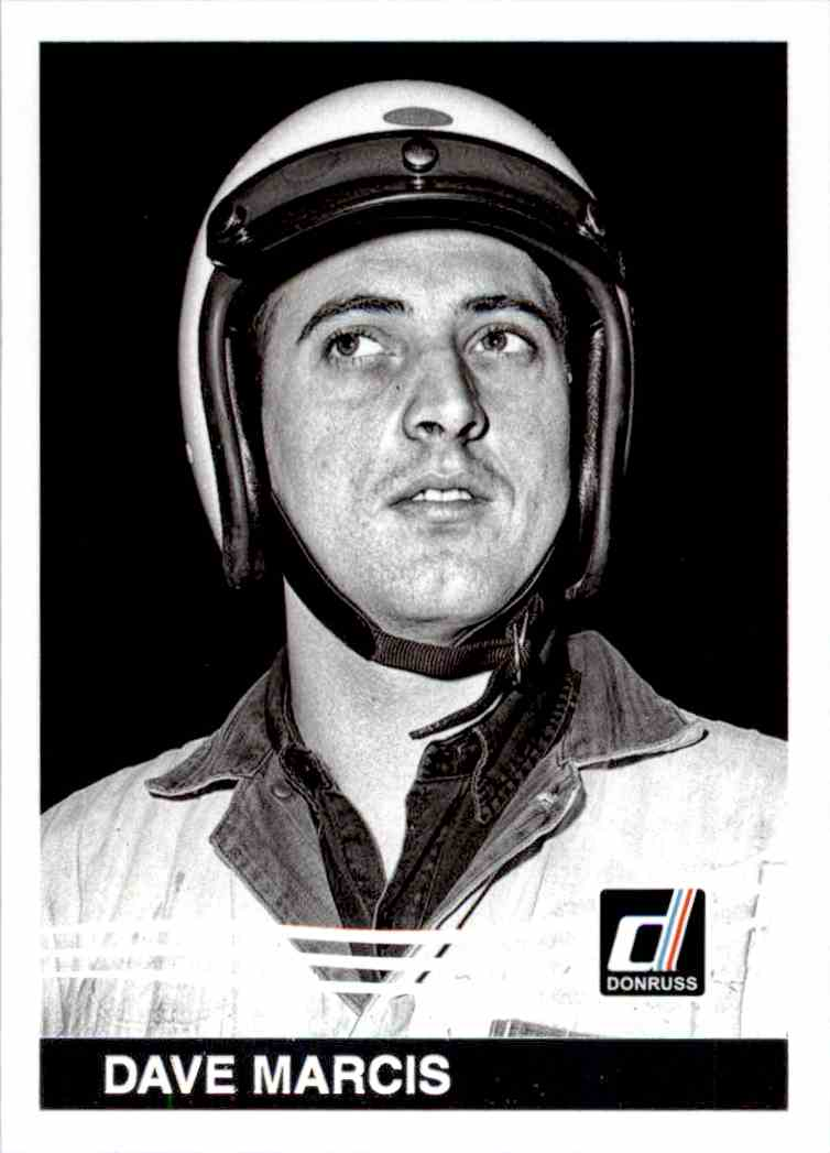 2017 Panini Donruss Racing Dave Marcis #166 card front image
