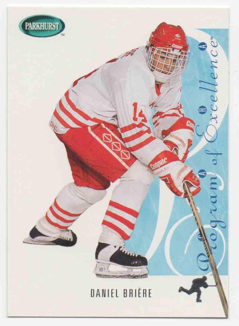 1994-95 Parkhurst Se Daniel Briere #SE261 card front image