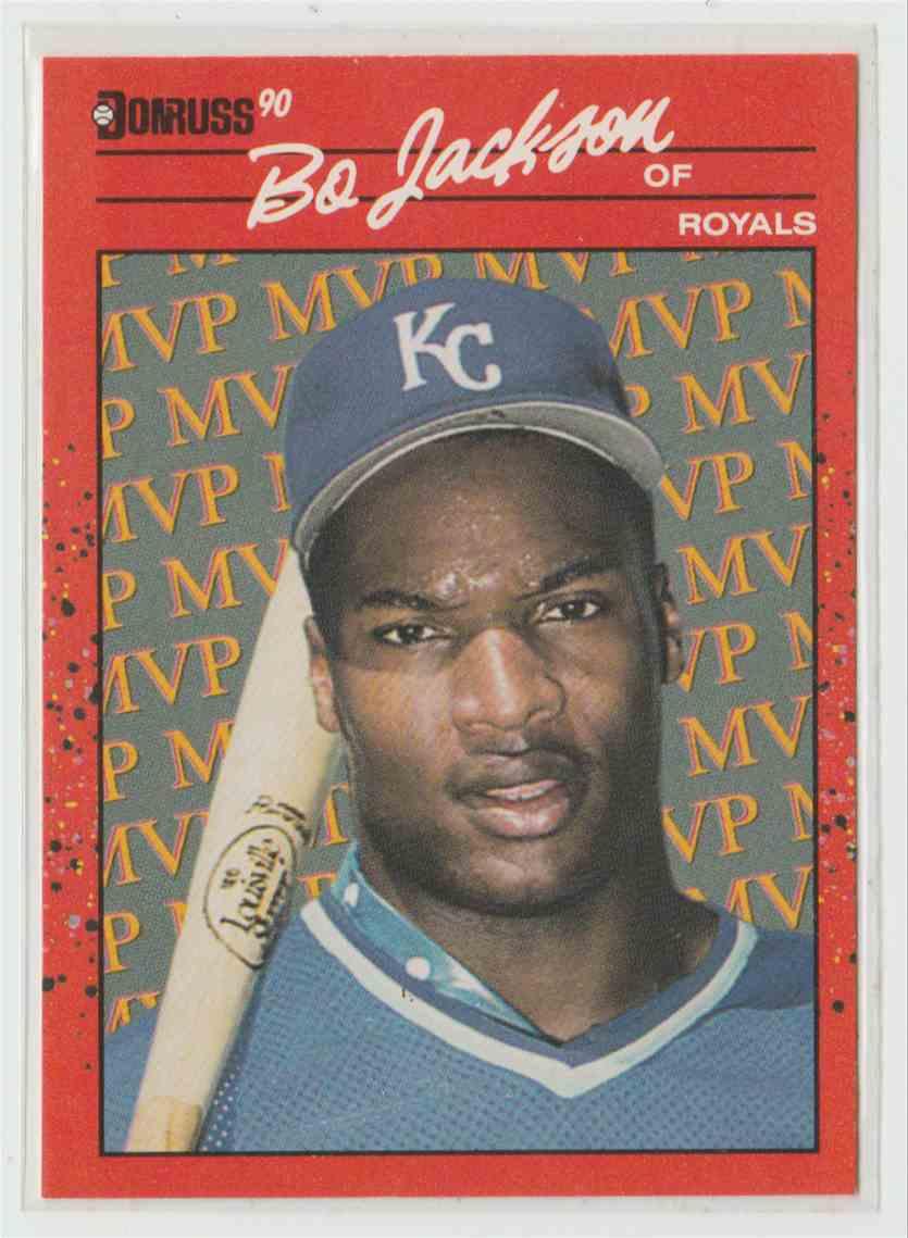 1990 Donruss Bonus Mvp39s Bo Jackson Bc 1 On Kronozio