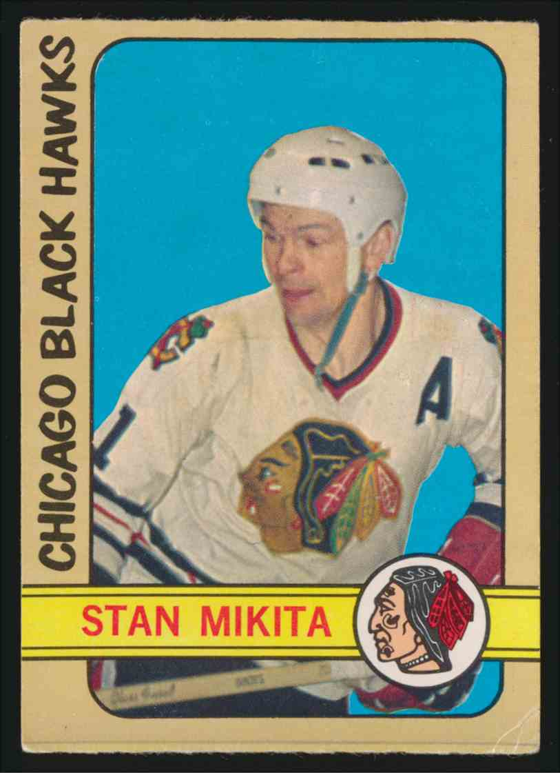 1972-73 0-Pee-Chee Stan Mikita #177 card front image