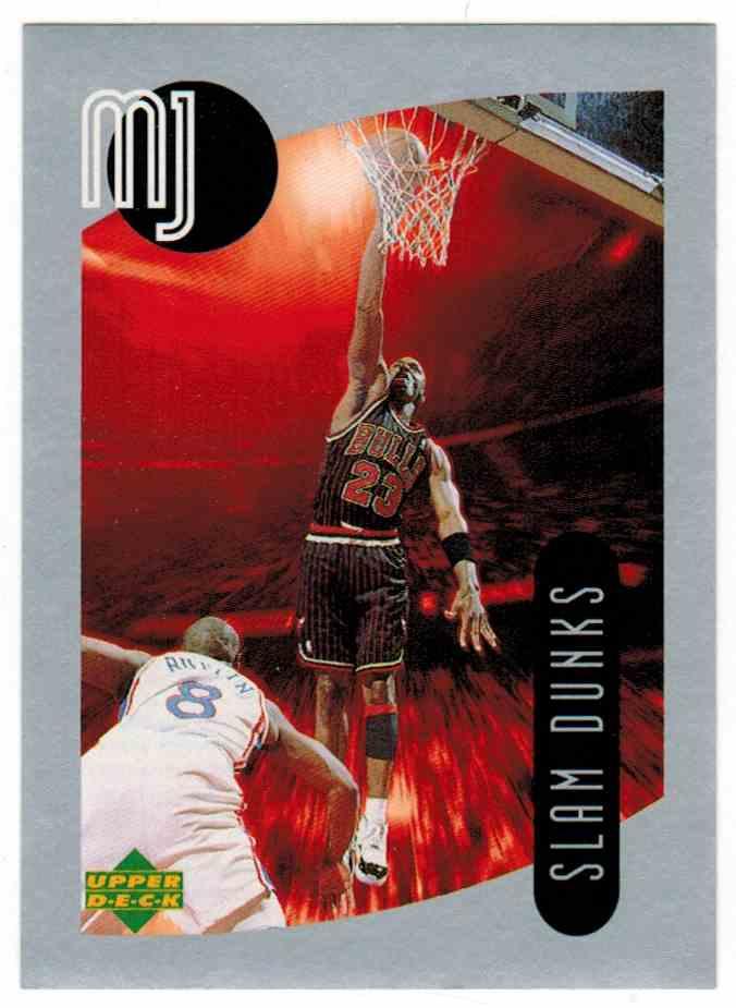 1998-99 Upper Deck Michael Jordan Mj Sticker Collection Michael Jordan #103 card front image
