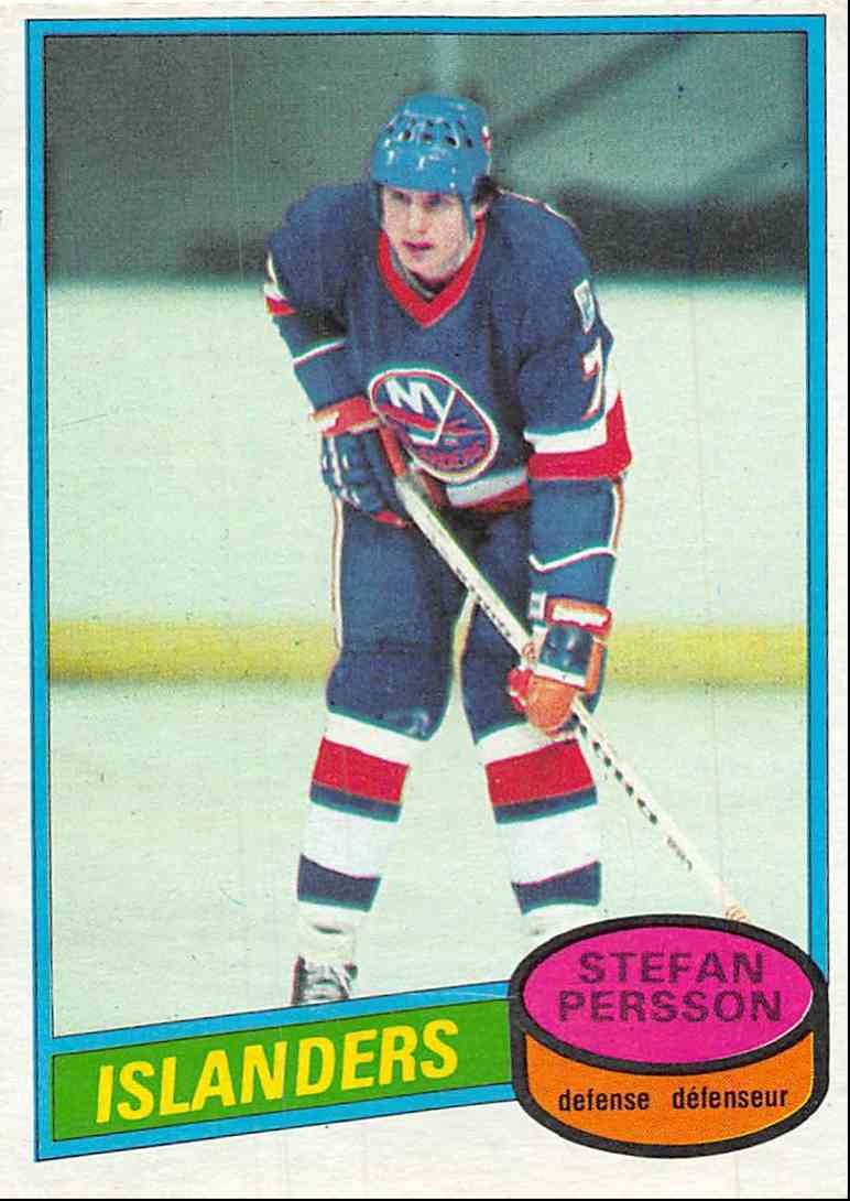 1980-81 O-Pee-Chee Stefan Persson #219 card front image