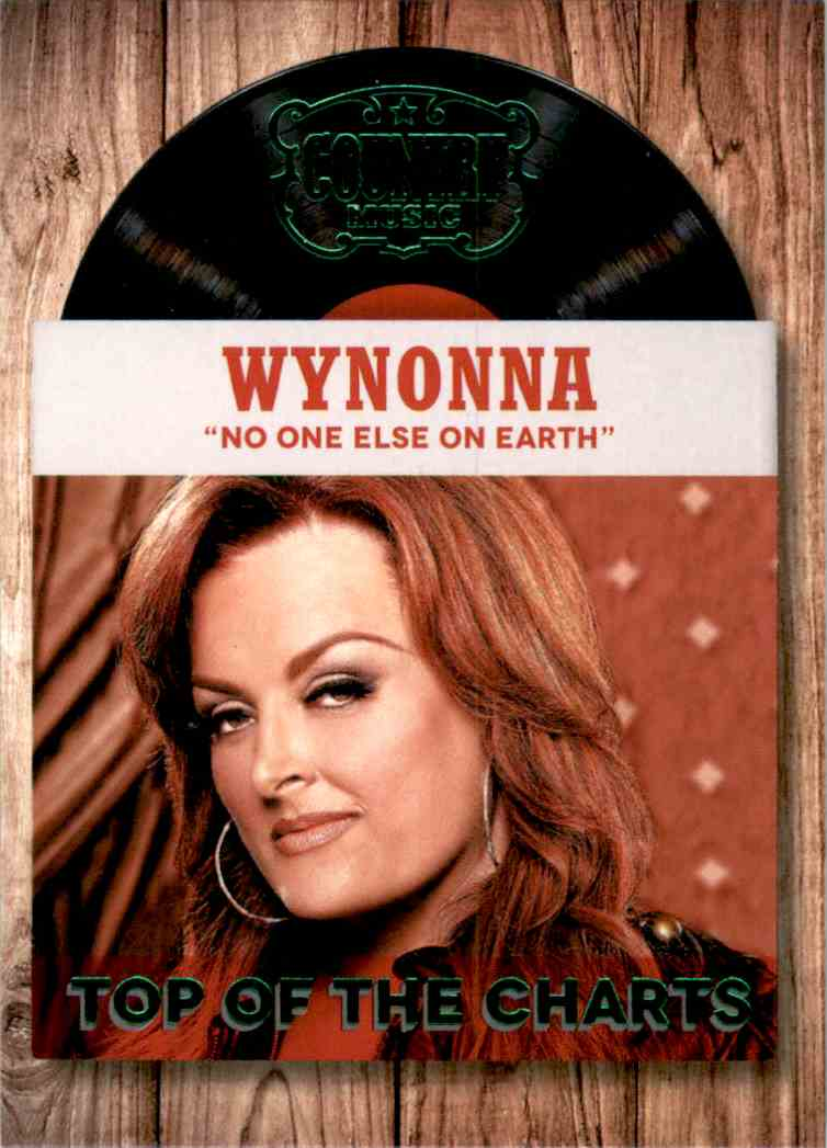 2015 Country Music Top Of The Charts Green Wynonna #24 card front image