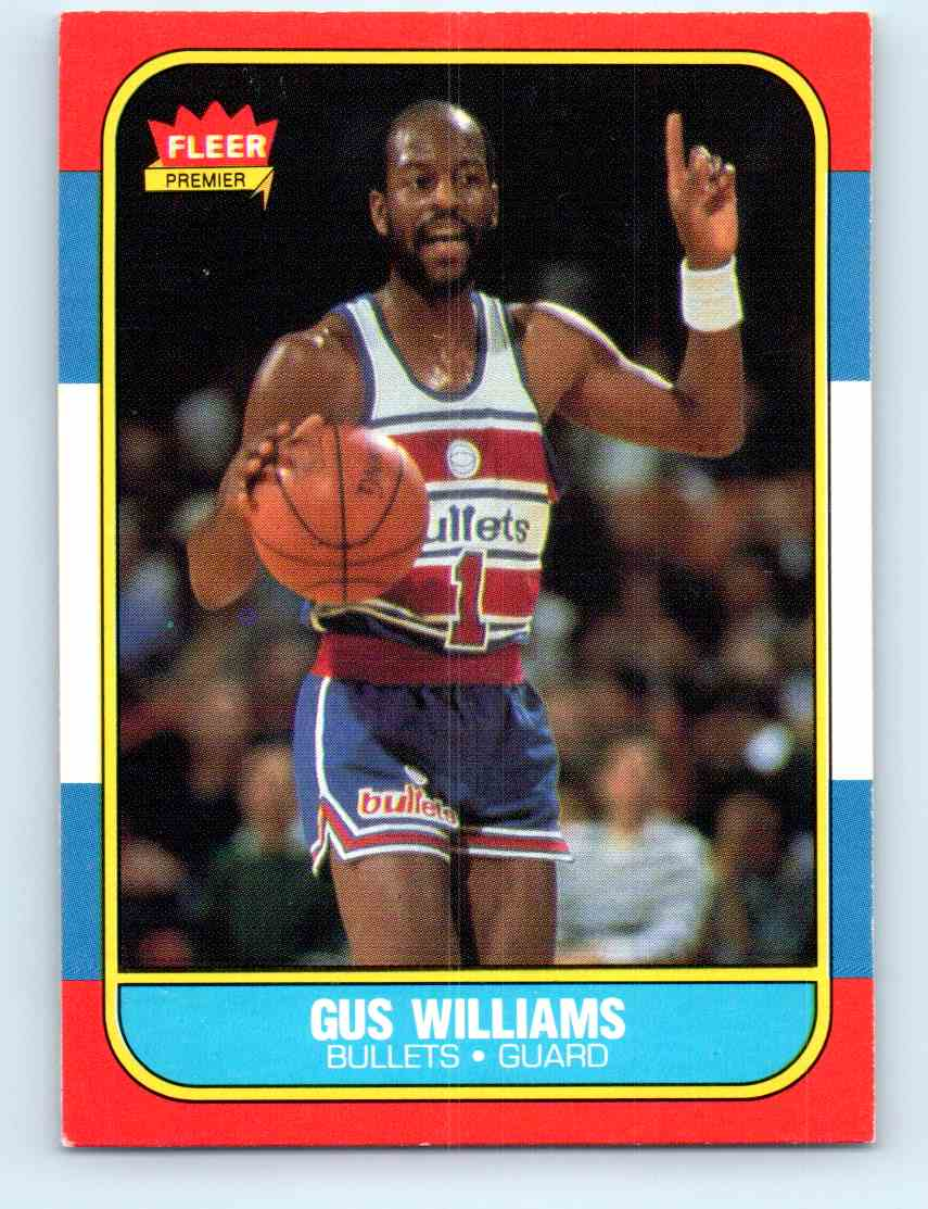 3 Gus Williams trading cards for sale
