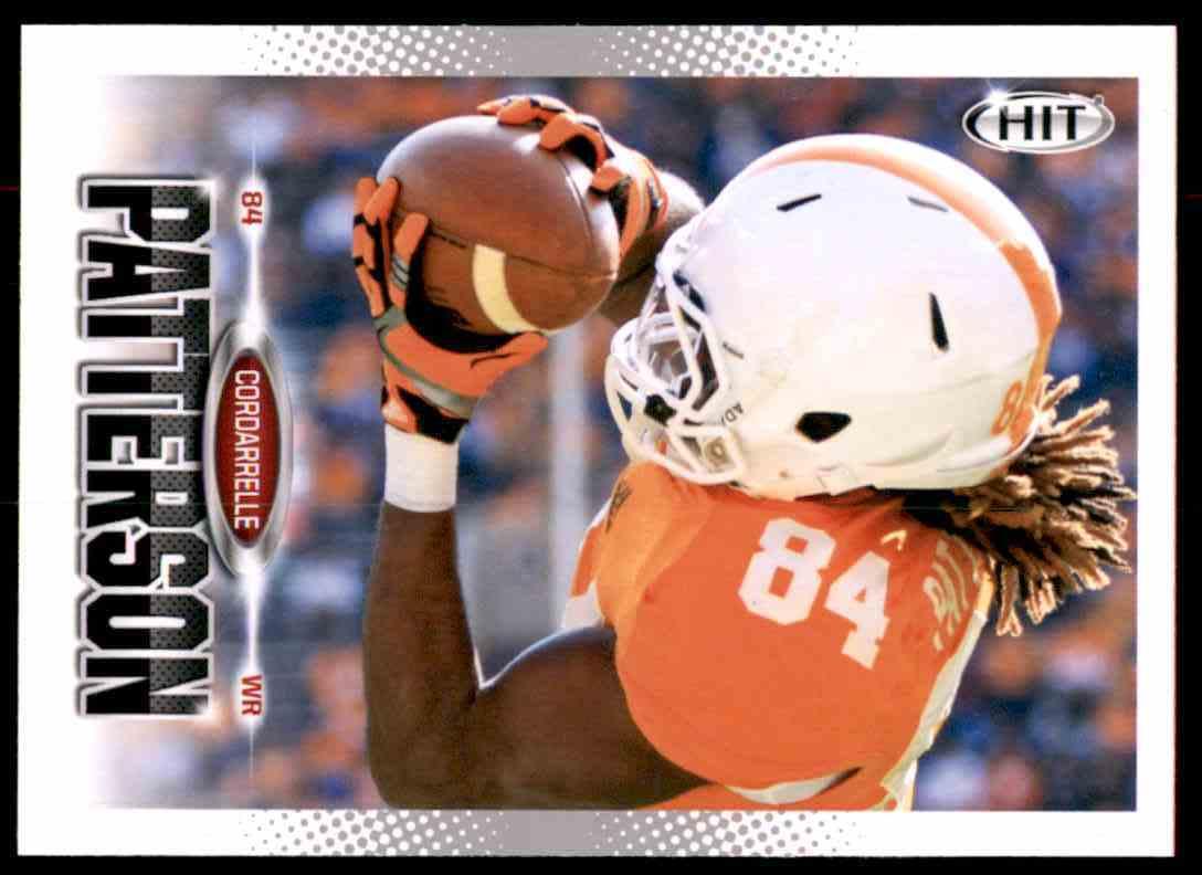 2013 Sage Hit Cordarrelle Patterson #14 card front image