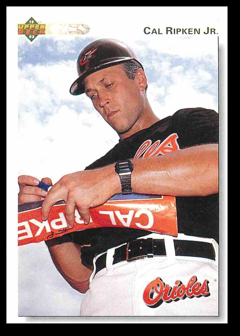 1992 Upper Deck Cal Ripken Jr 165 On Kronozio