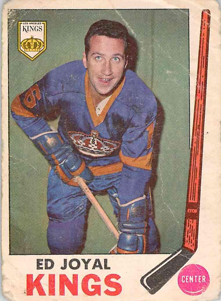 1969-70 O-Pee-Chee Ed Joyal #108 card front image