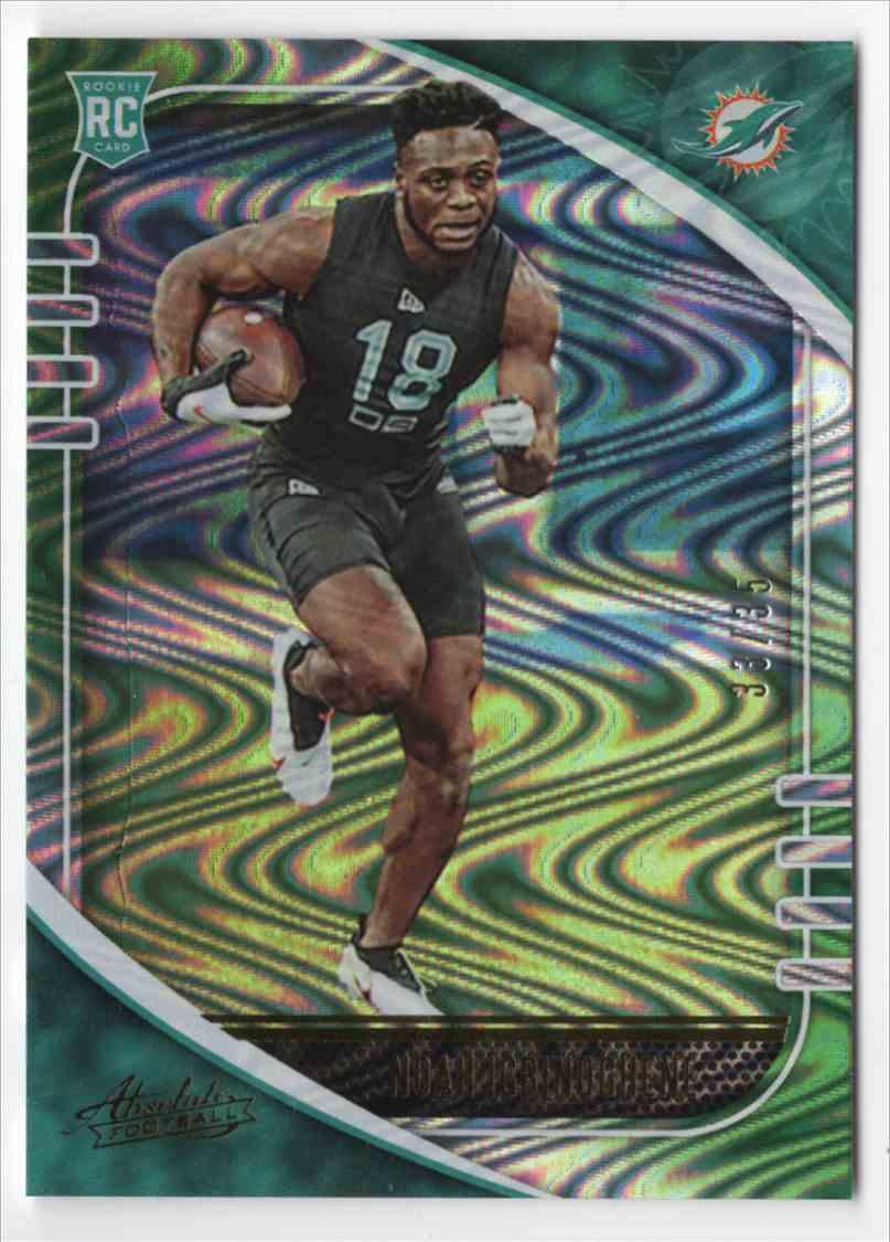 2020 Absolute Green Waves Noah Igbinoghene #184 card front image