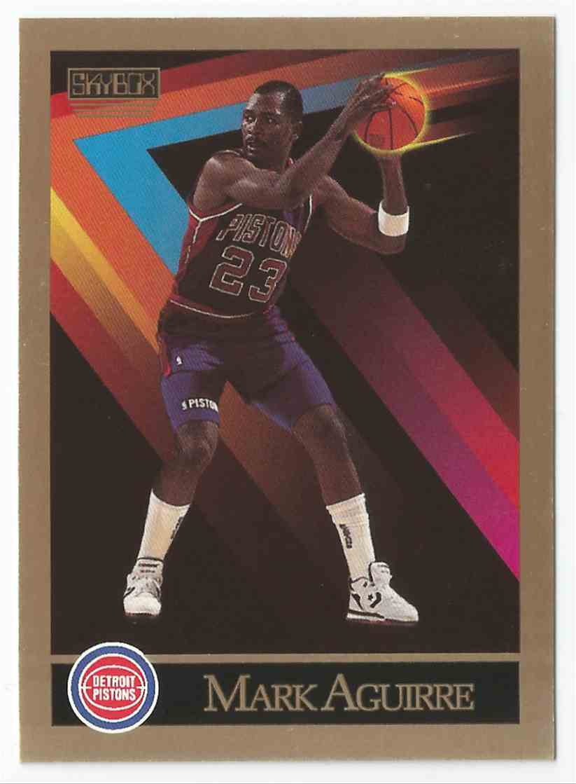 1 Mark Aguirre Detroit Pistons Mint trading cards for sale