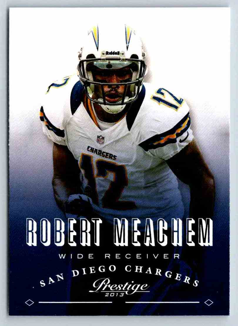 2013 Prestige Robert Meachem #166 card front image