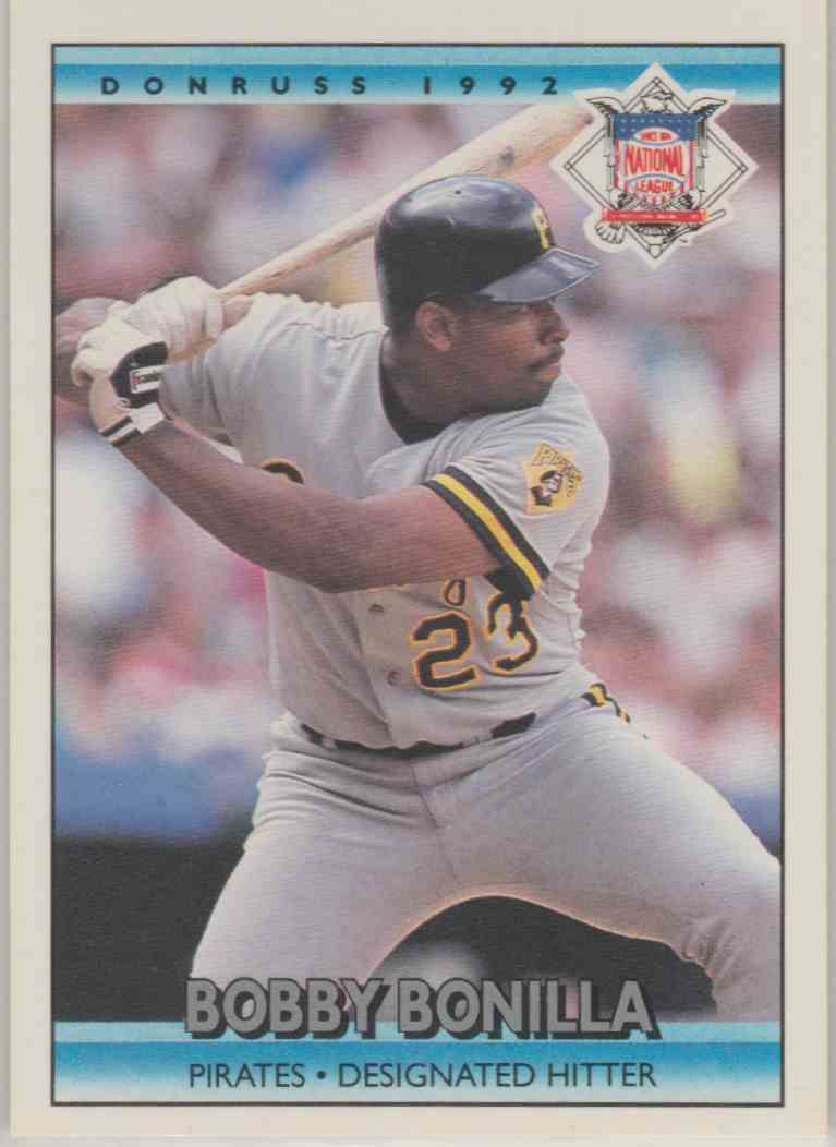 1992 Donruss Bobby Bonilla #427 card front image