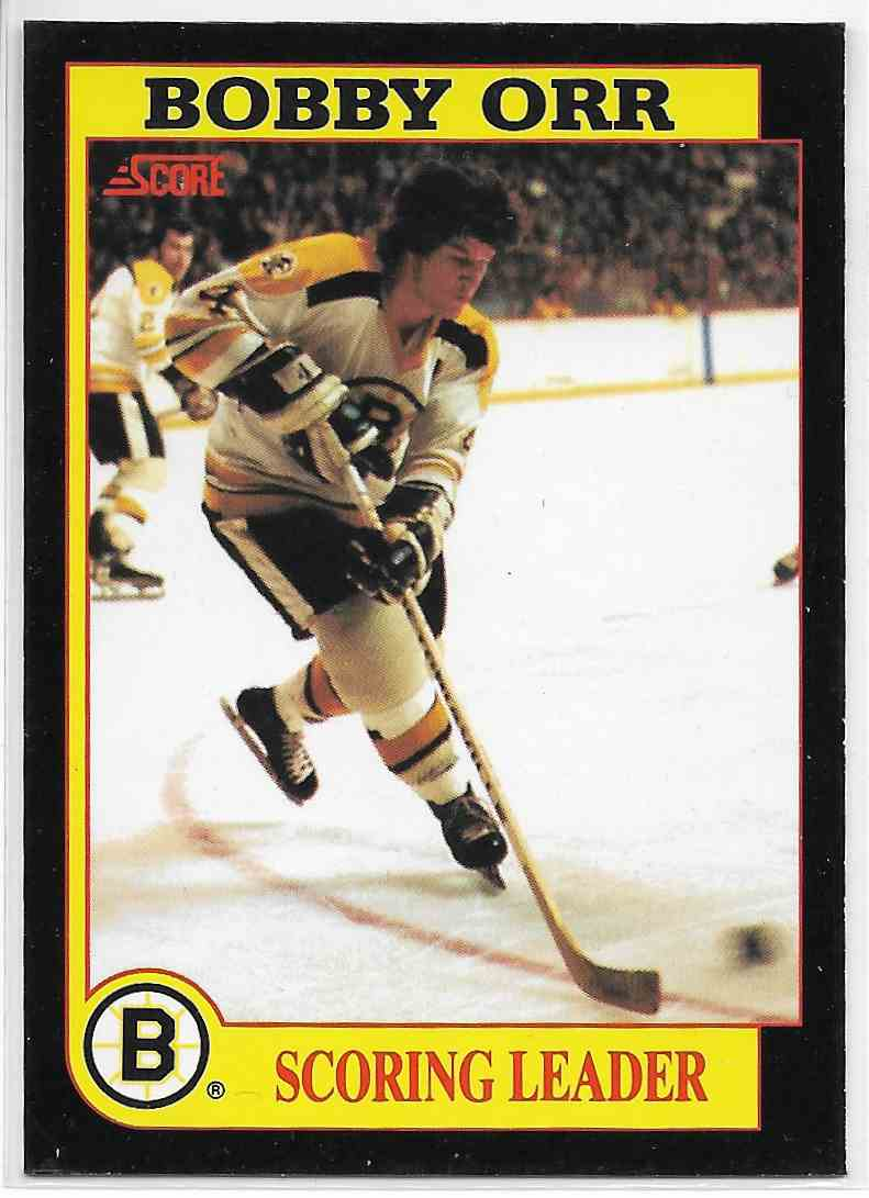 1991-92 Score Bobby Orr #NNO card front image