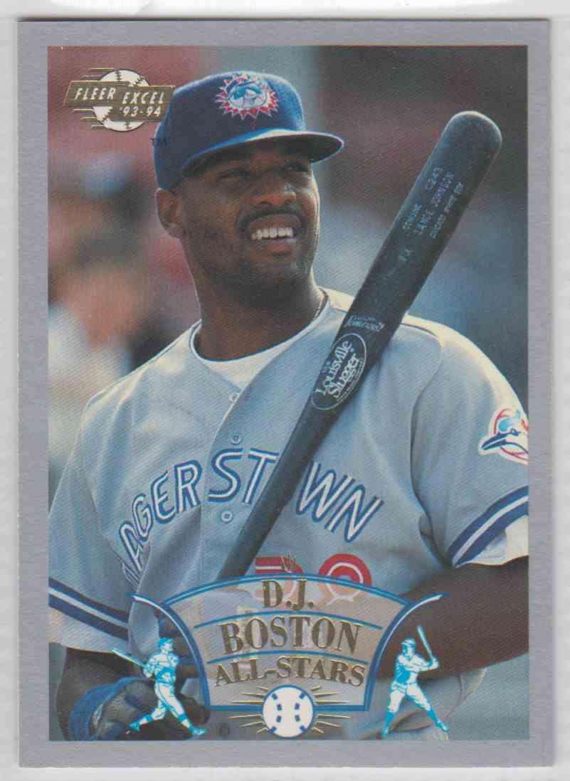 1993 1993 94 Fleer Excel All Stars Dj Boston 9 On Kronozio