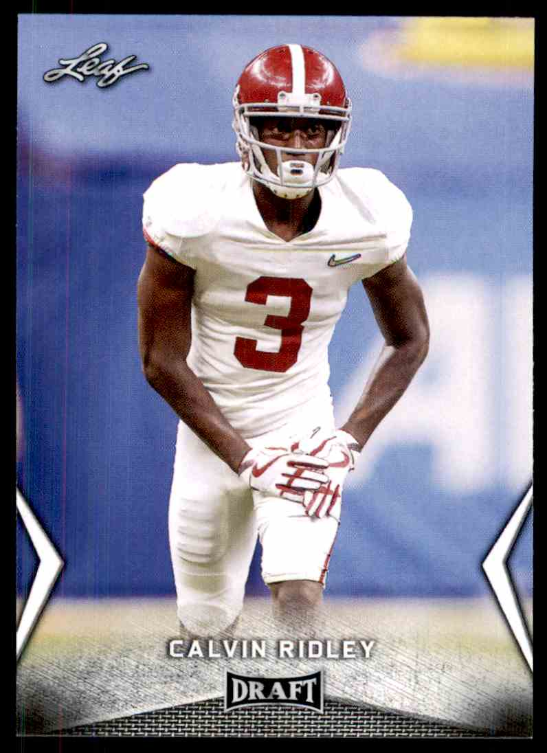 2018 Leaf Draft Calvin Ridley #10 card front image