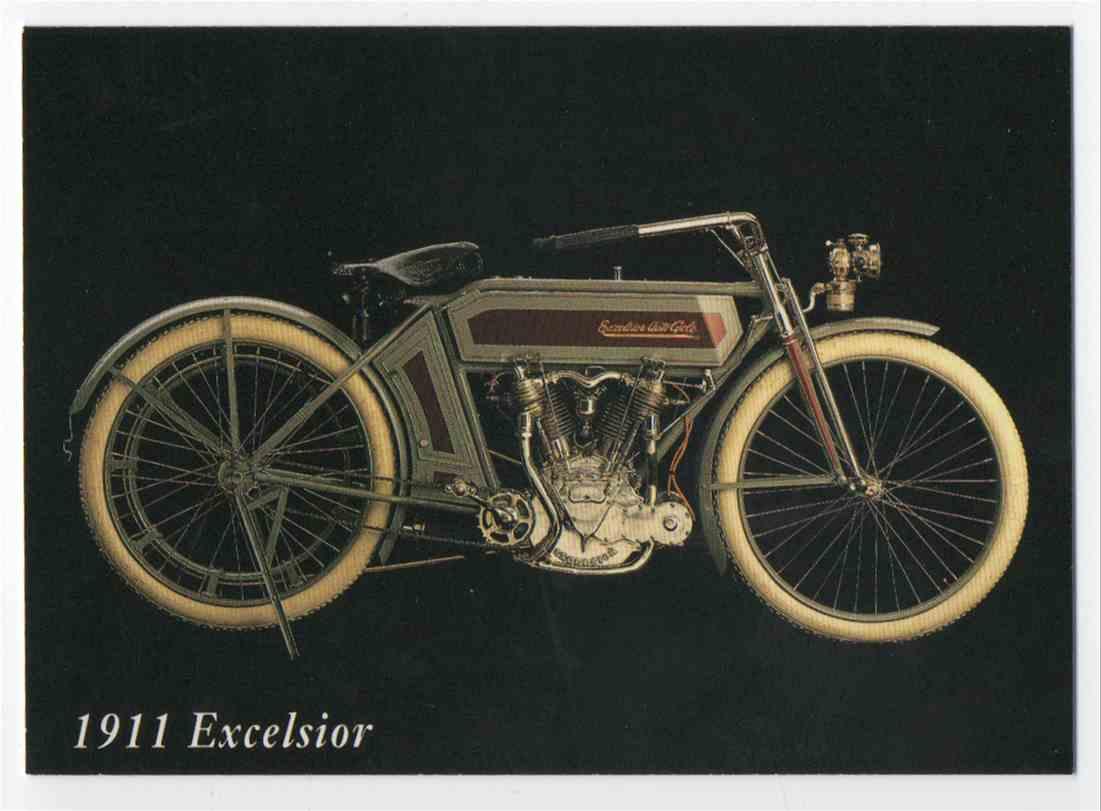1993 InLine 1911 Excelsior #42 card front image