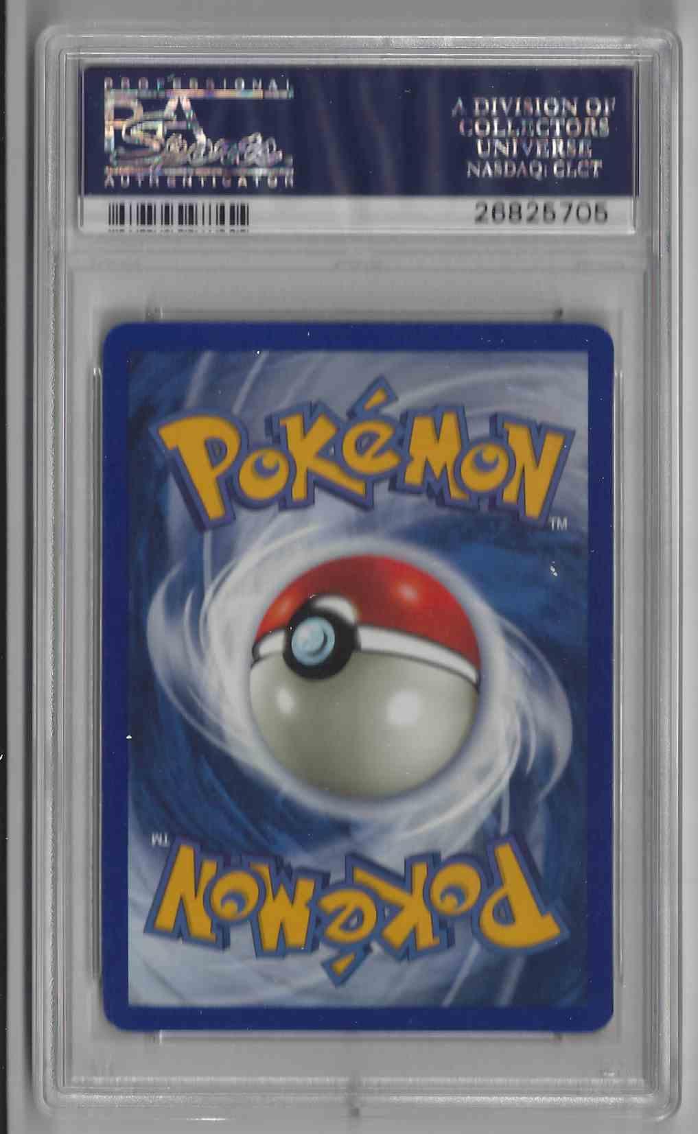 Pokemon Fossil 1st Edition #48 Grimer PSA 9
