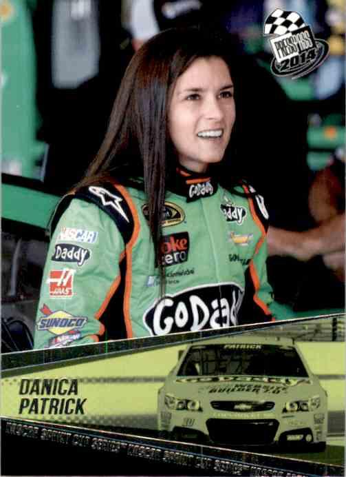 2014 Press Pass Danica Patrick #31 card front image
