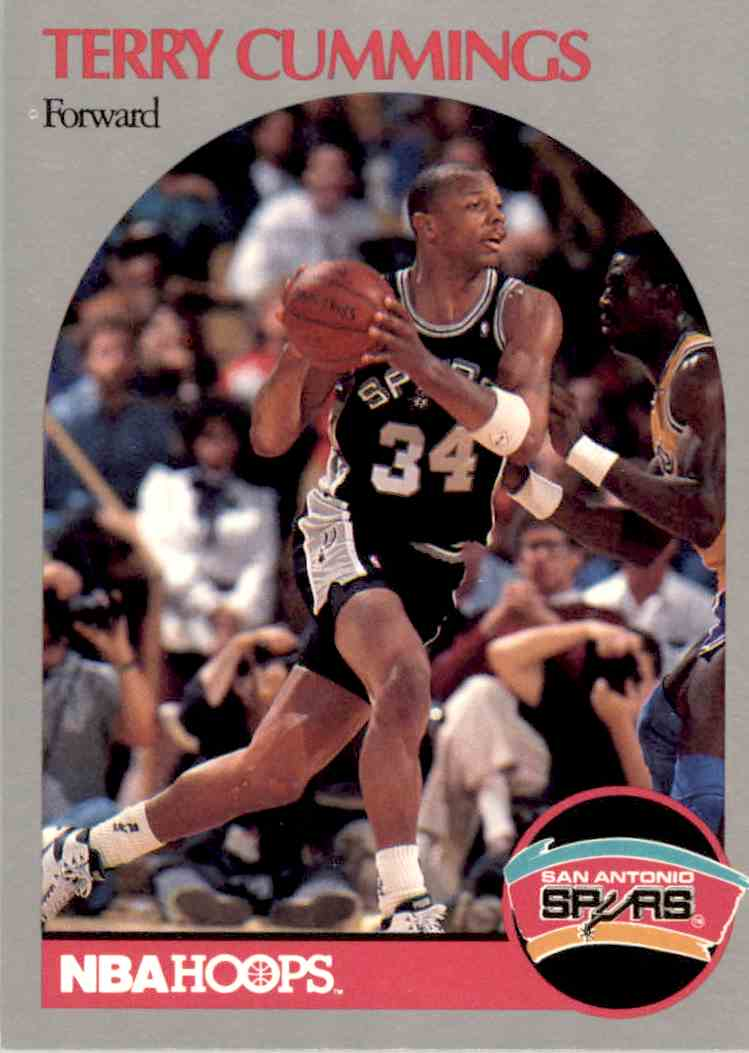 1990 91 NBA Hoops Terry Cummings 266 on Kronozio