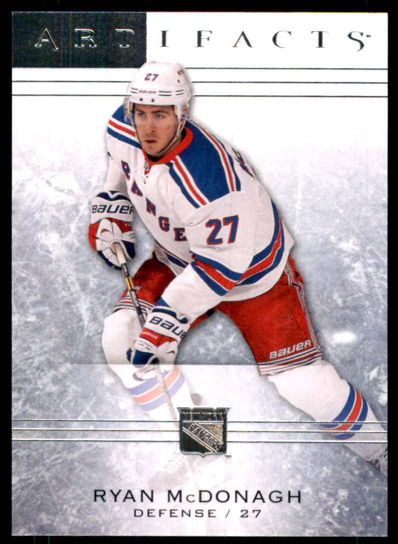 2014-15 Artifacts Ryan McDonagh #1 card front image