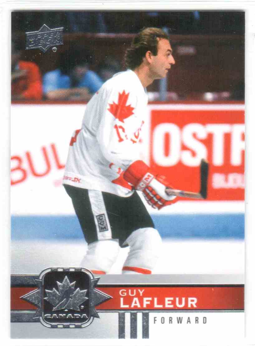 2017-18 Upper Deck Team Canada Canadian Tire Guy Lafleur #136 card front image