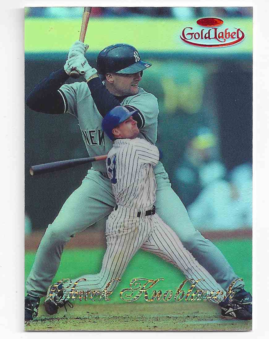 1998 Topps Gold Label Red Chuck Knoblauch #68 card front image