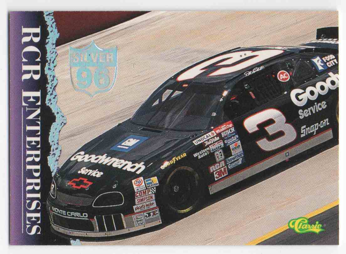 1996 Class Silver Dale Earnhardt #32 card front image