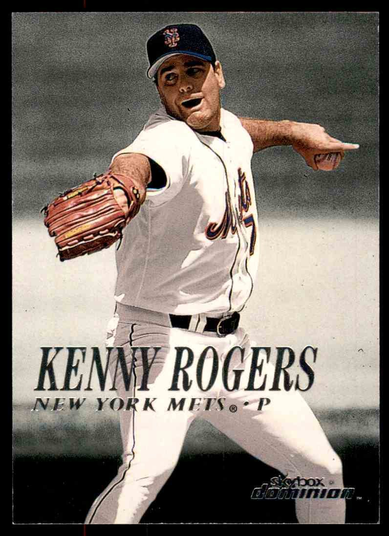 2000 SkyBox Dominion Kenny Rogers #149 card front image