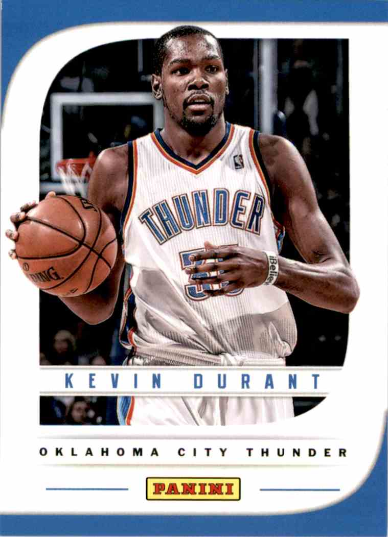 2013-14 Panini Father's Day Kevin Durant #14 card front image