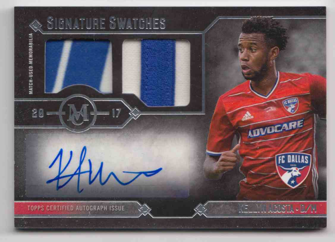 2017 Topps MLS Museum Collection Kellyn Acosta #MCAR-KA card front image