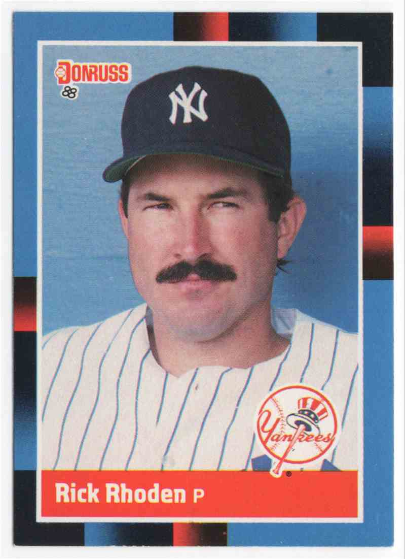 1988 Donruss Rick Rhoden #128 card front image