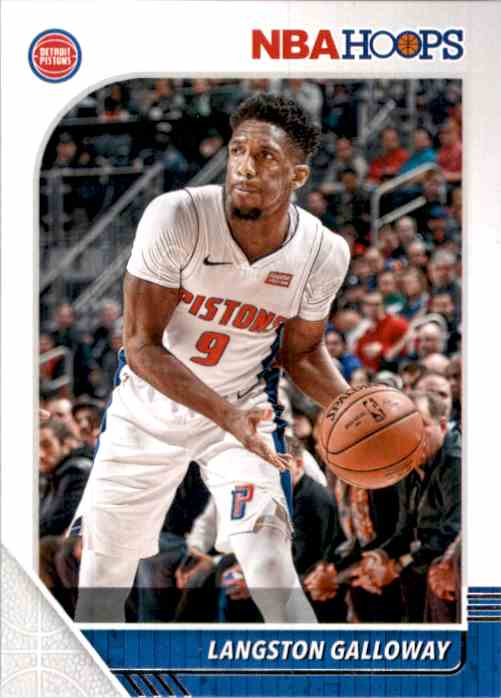 2019-20 Hoops Langston Galloway #56 card front image