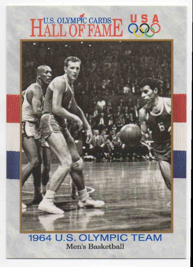 1991 Impel U.S. Olympic Hall Of Fame 1964 Olympic Basketball #57 card front image